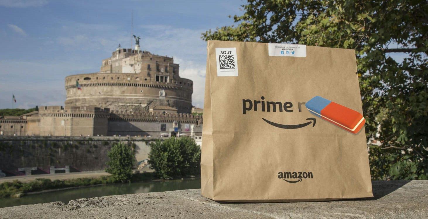 Prime Now cambia casa. La spesa veloce si sposta su Amazon