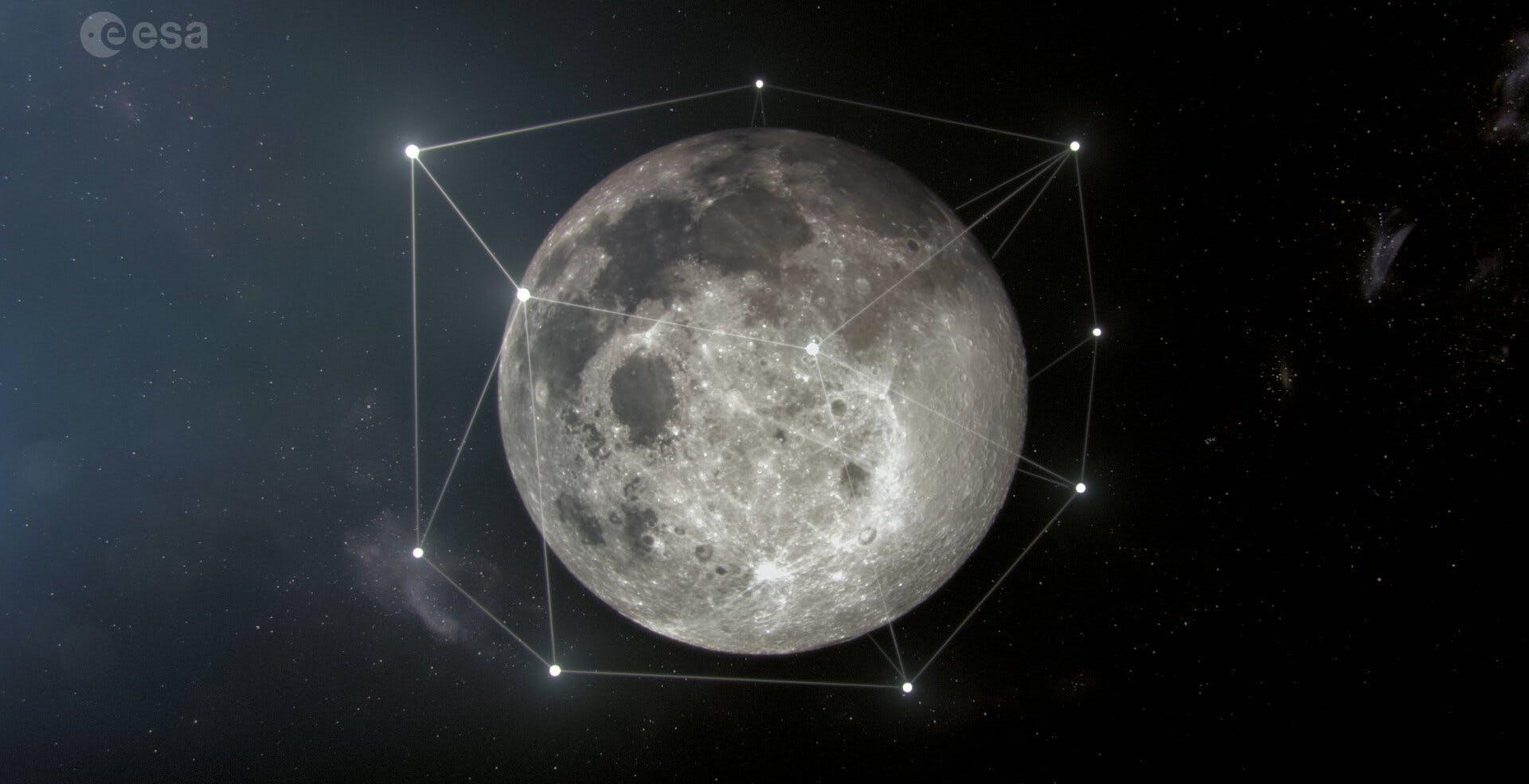 ESA annuncia il progetto Moonlight: una costellazione di satelliti lunare per la navigazione e le comunicazioni