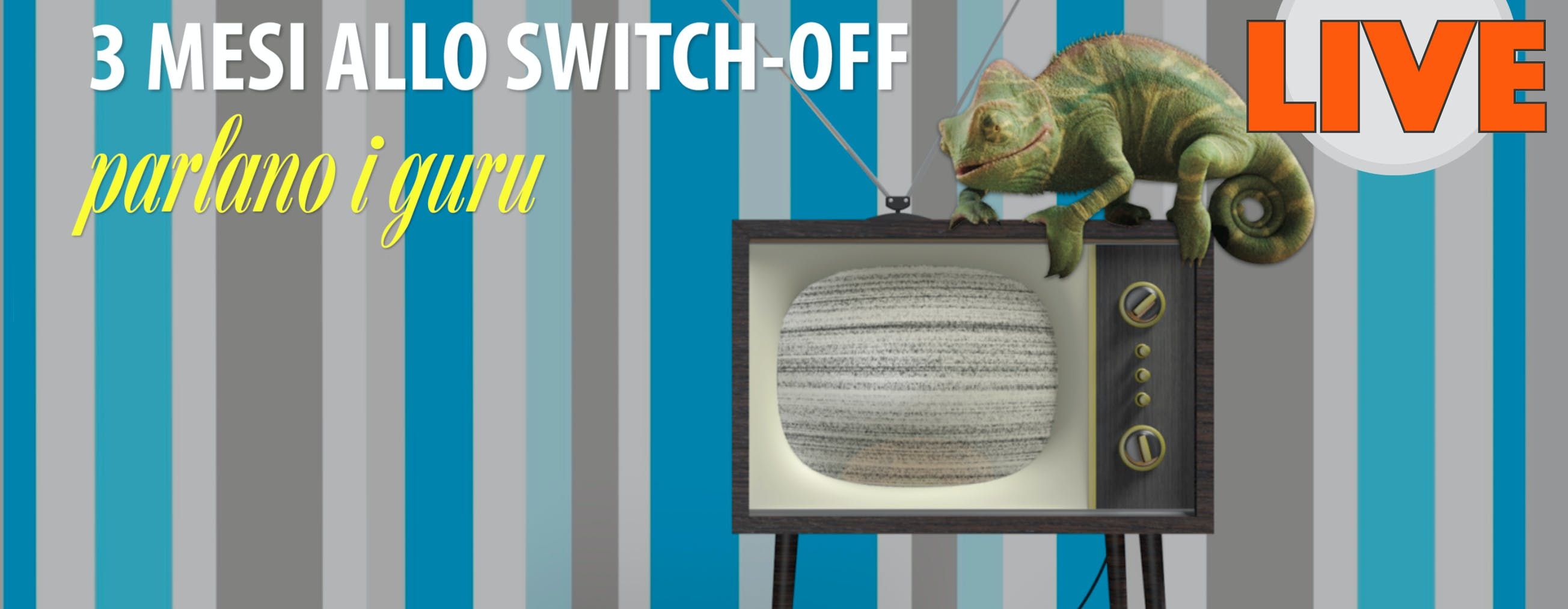 """Domani alle 15 il live """"Tre mesi allo switch-off"""". Tutta la verità sul 1 settembre e sulle altre scadenze del nuovo digitale terrestre"""