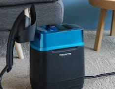 Rowenta Cube: stira, sanifica e rinfresca abbigliamento, tende e divani uccidendo virus e batteri