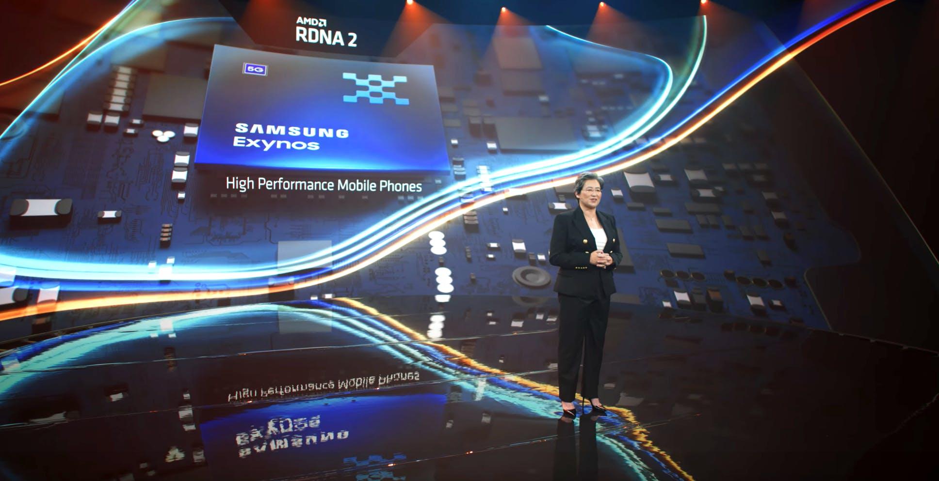 AMD conferma: il processore Samsung Exynos con GPU RDNA 2 arriva quest'anno