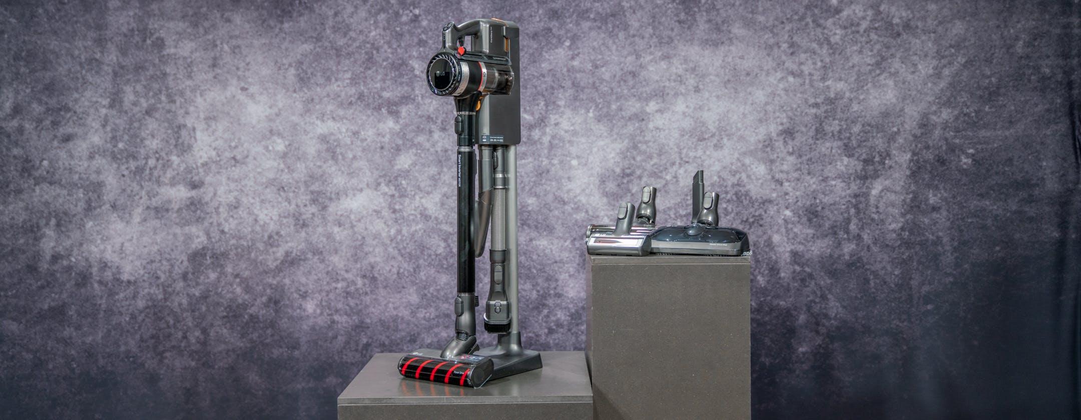 In prova la scopa elettrica CordZero A9 Kompressor di LG: doppia batteria e tanti accessori, ma che prezzo!