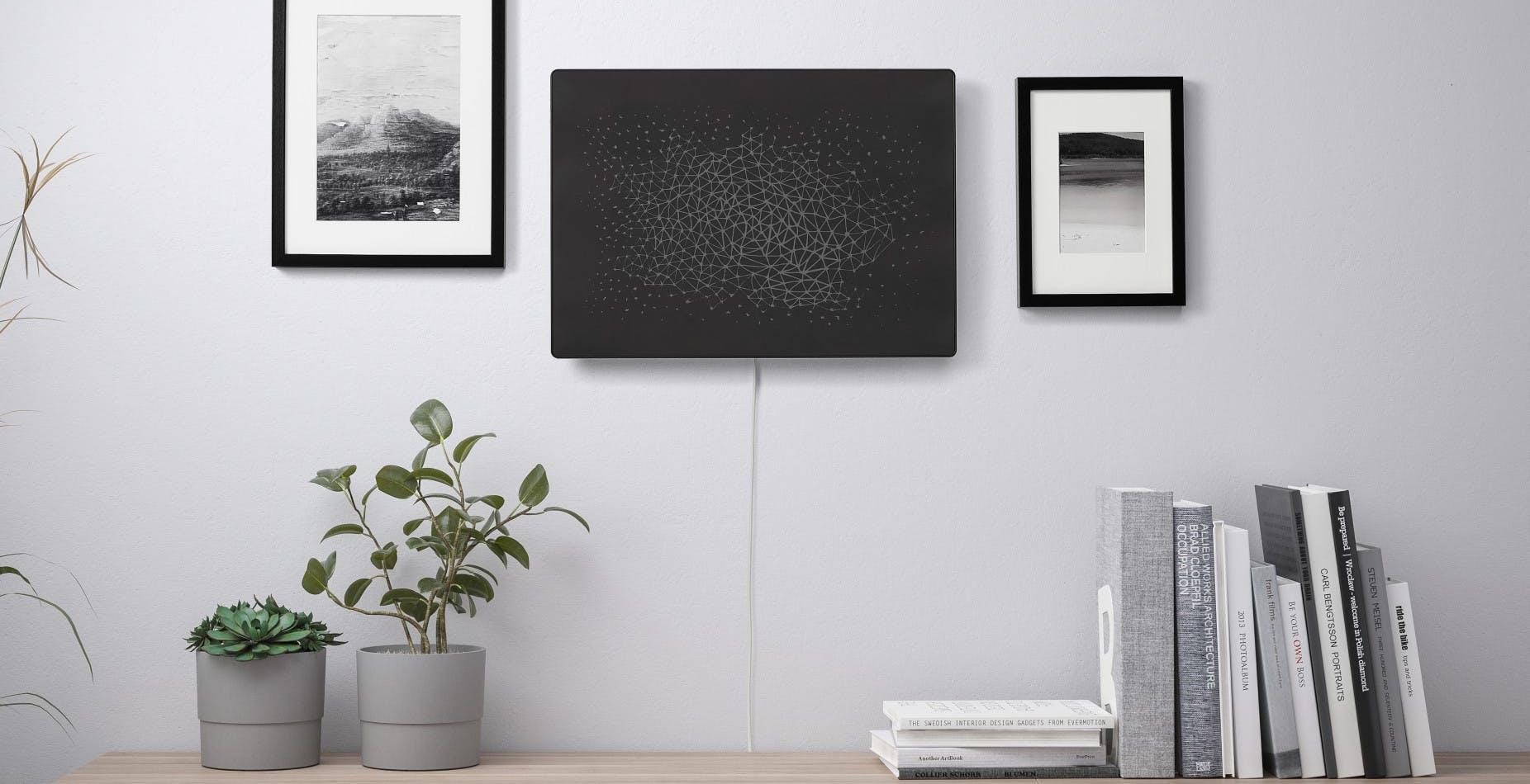 Da Sonos e Ikea un diffusore che sembra un quadro: multiroom e AirPlay incontrano il design