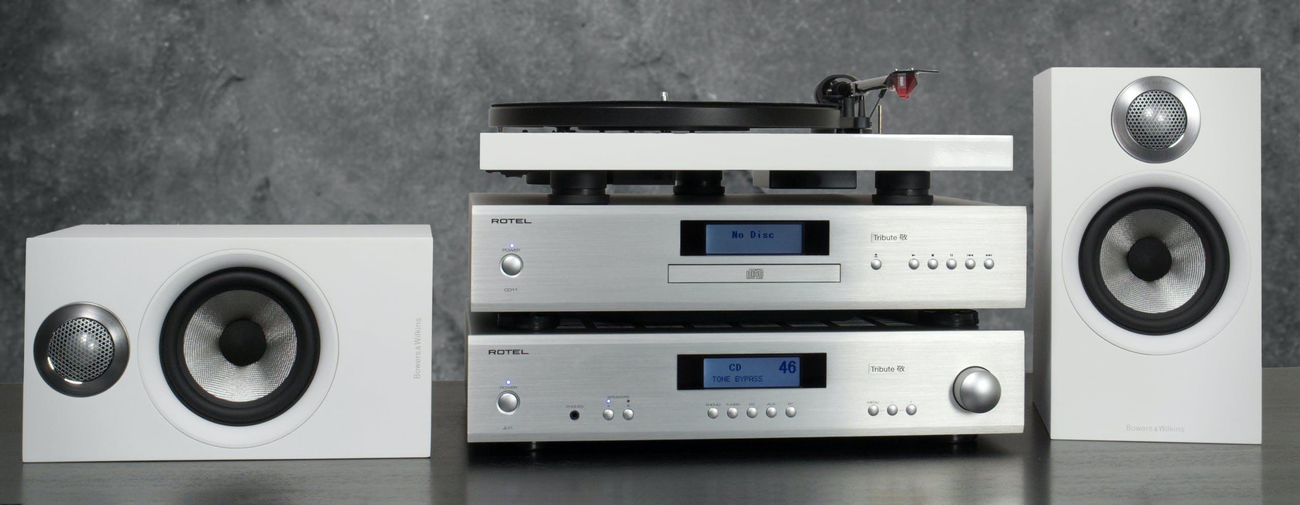 Rotel Tribute, Project Debut Evo, B&W 600 Anniversary: il sistema stereo con qualcosa in più