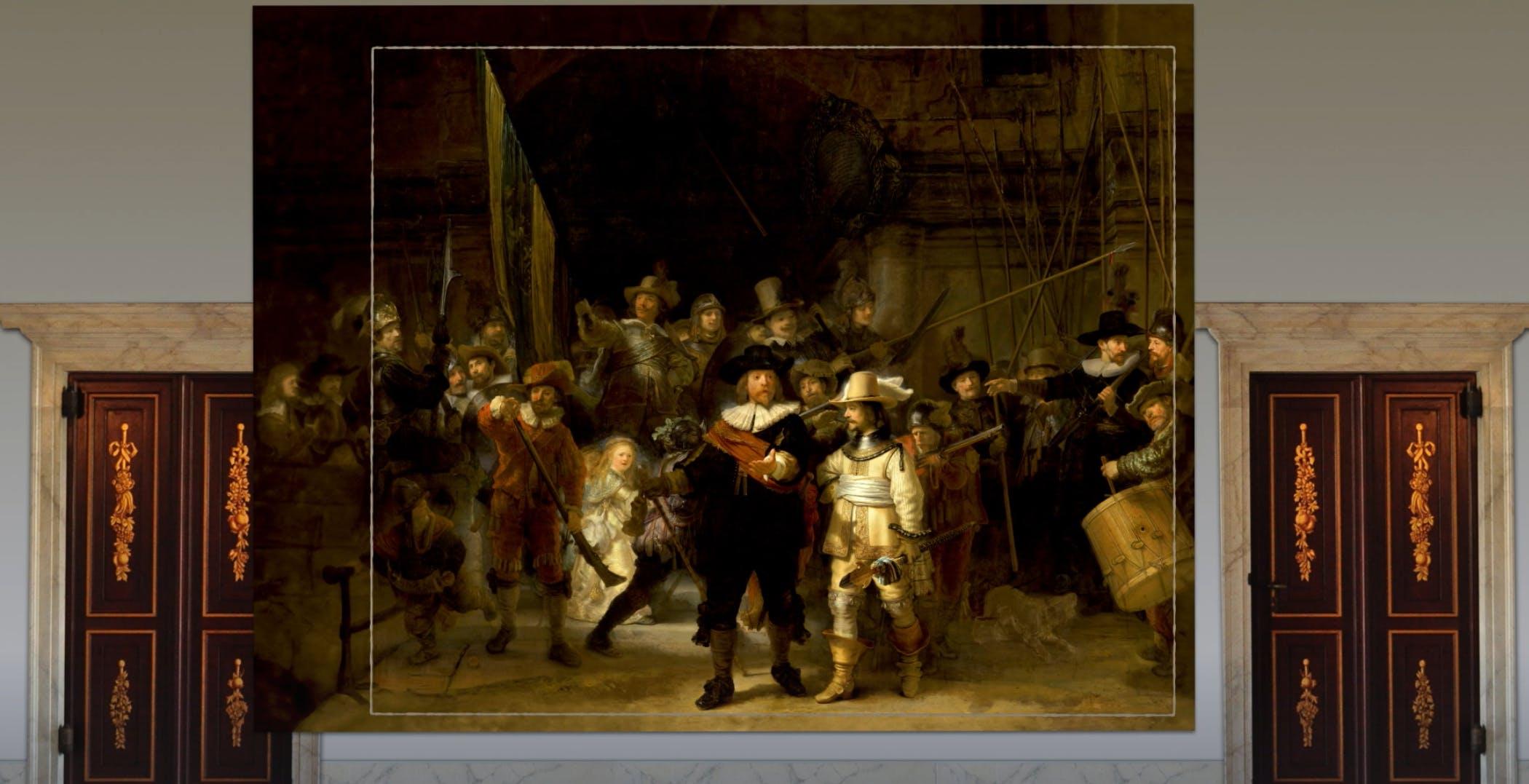 Un dipinto di Rembrandt ha riottenuto le sue parti mancanti grazie all'intelligenza artificiale