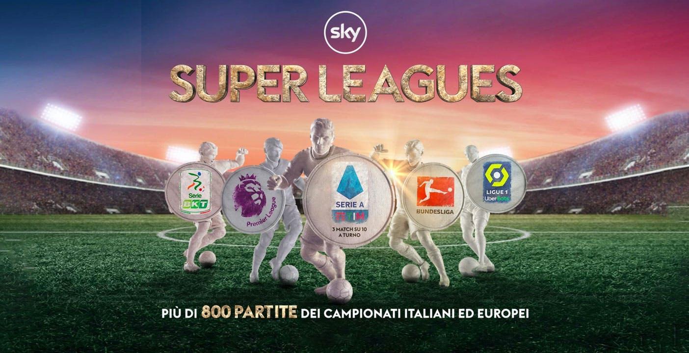 Sky Calcio a 5 euro al mese: senza la Serie A completa il prezzo scende