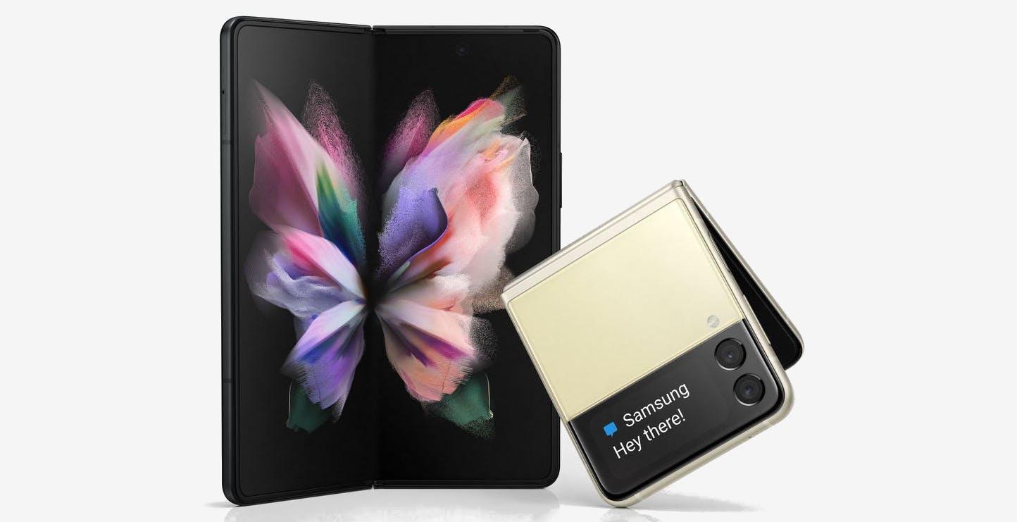 Galaxy Z Fold 3 e Z Flip 3 si mostrano per la prima volta online