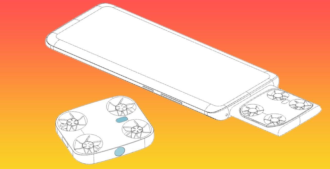 Da Vivo un'idea folle: brevettato il drone-camera che fuoriesce dallo smartphone