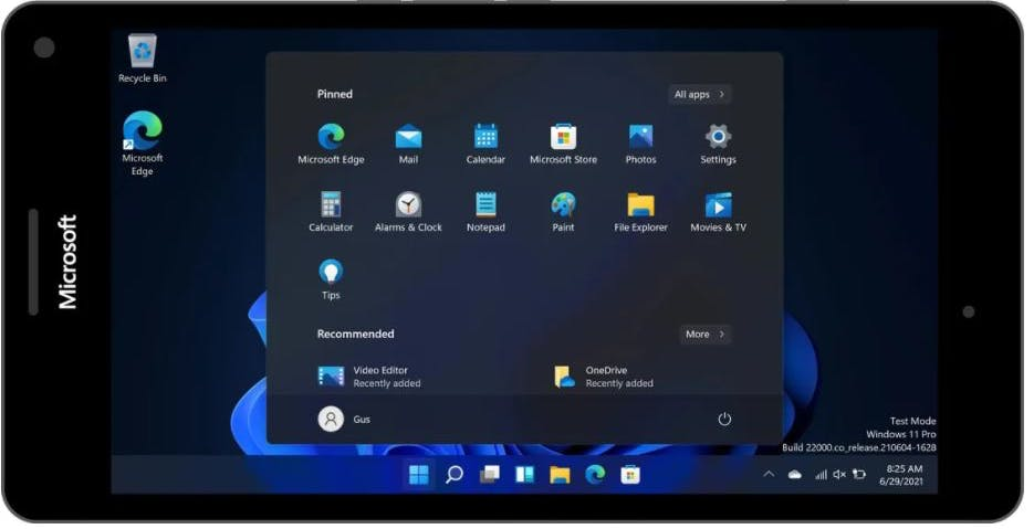 Windows 11 fa la sua comparsa sullo smartphone Lumia 950XL