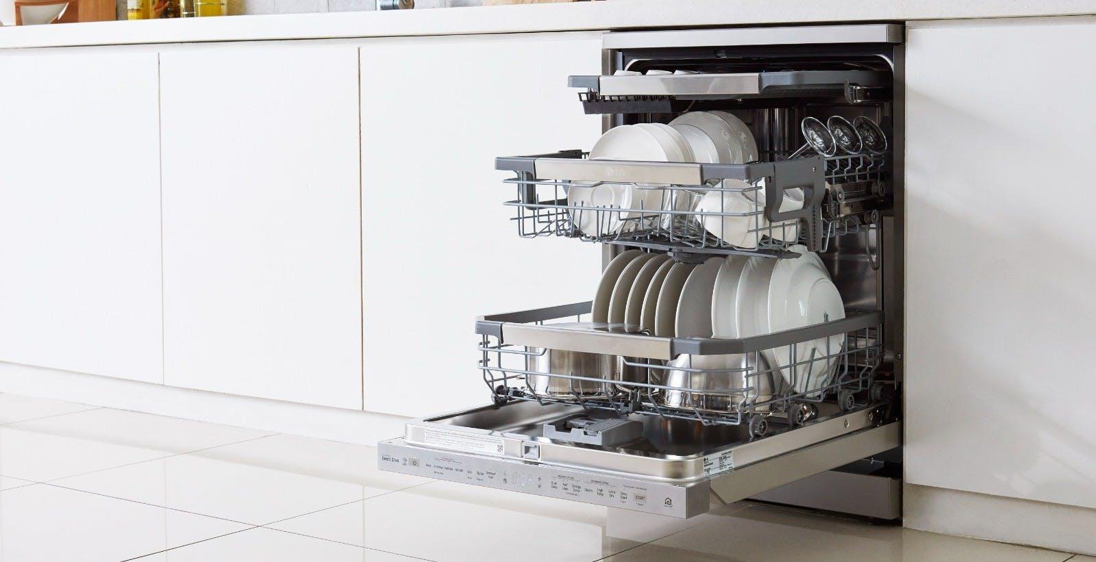 Le lavastoviglie LG debuttano in Italia: presentata la gamma QuadWash