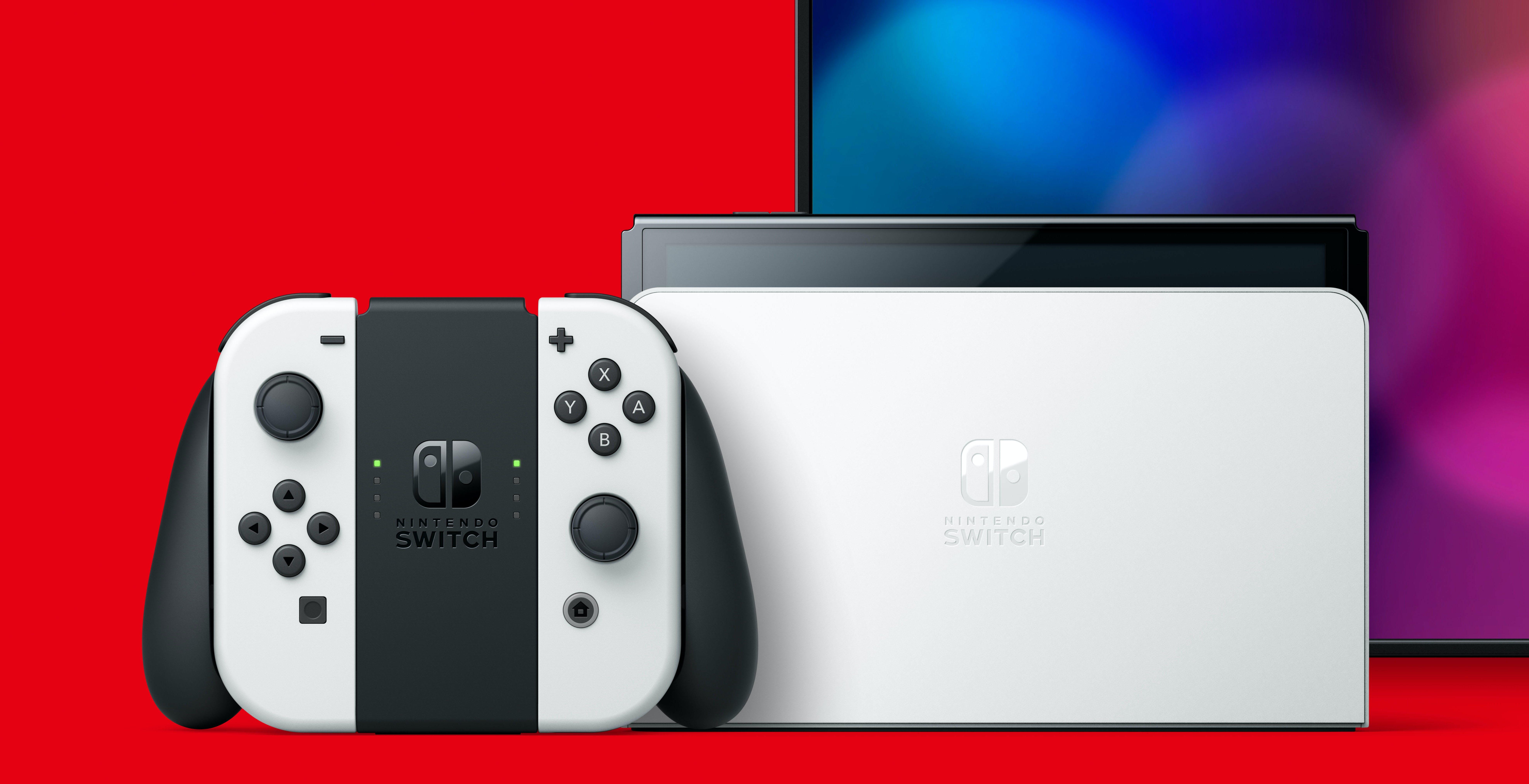"""Nuova Nintendo Switch ufficiale con schermo OLED da 7"""". Arriva l'8 ottobre"""