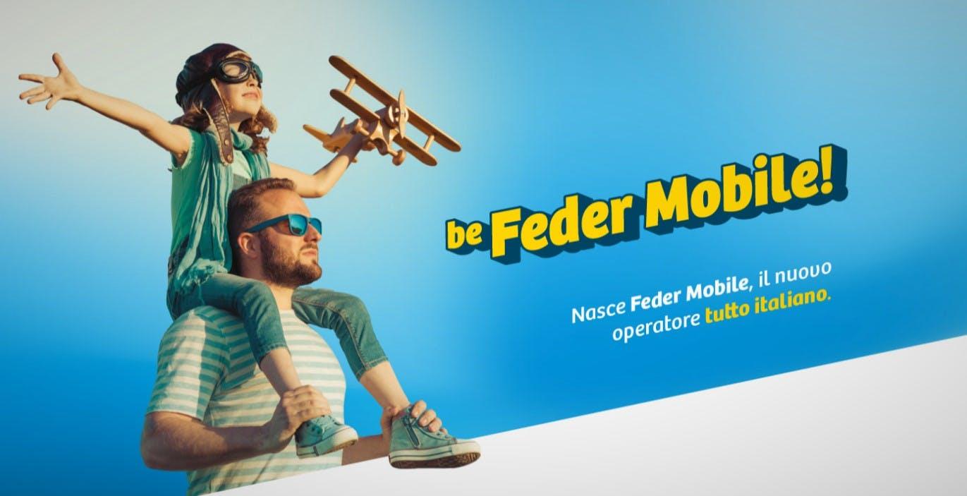 Debutta un nuovo operatore virtuale su rete Vodafone: Feder Mobile. Tutte le offerte: si parte da 3,99 euro al mese