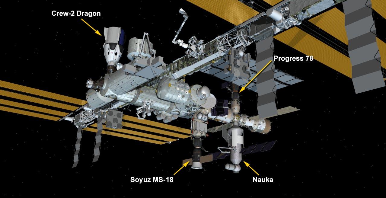 Guerra di propulsori in orbita: i getti impazziti del modulo russo fanno deviare la Stazione Spaziale Internazionale