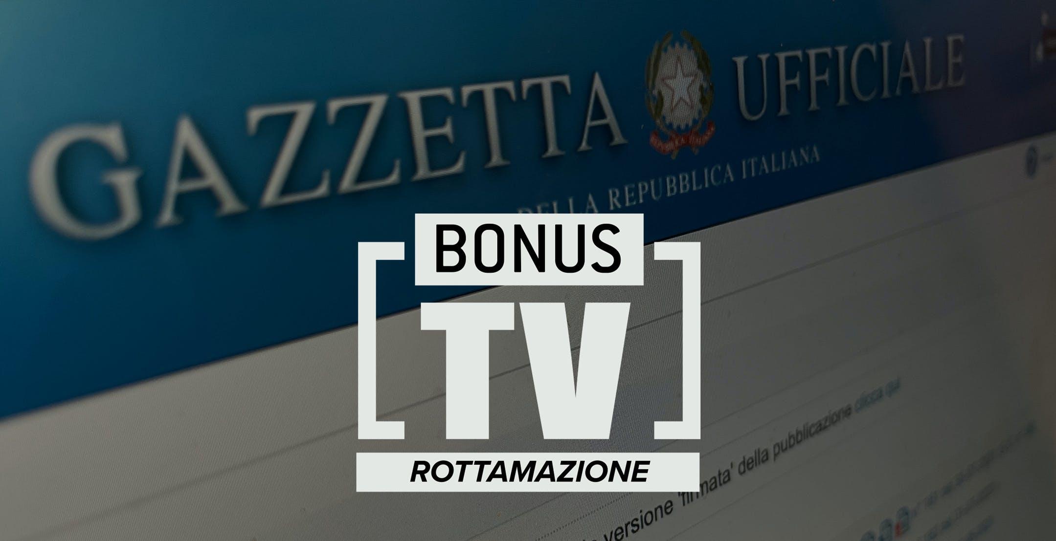 Il Bonus TV Rottamazione è in Gazzetta Ufficiale. Ecco il modulo per avere lo sconto di 100 euro