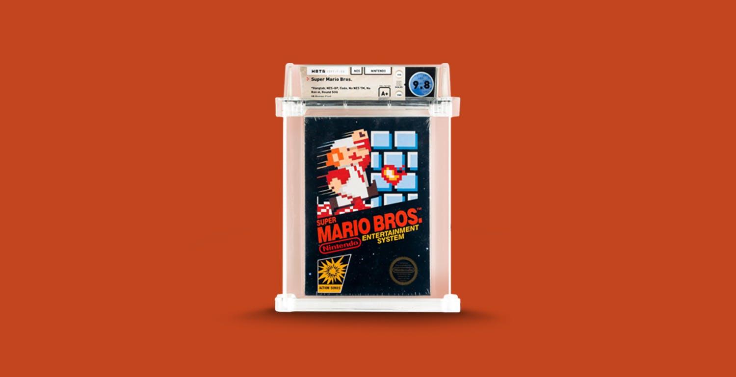 Pagati 2 milioni di dollari per una confezione di Super Mario Bros. del 1985 mai aperta