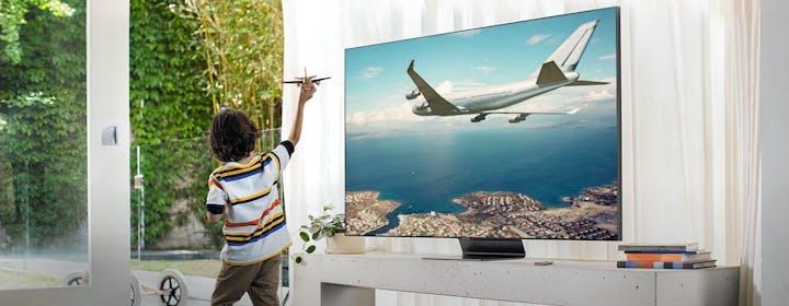 Tutta la tecnologia audio dei TV QLED e delle soundbar di Samsung