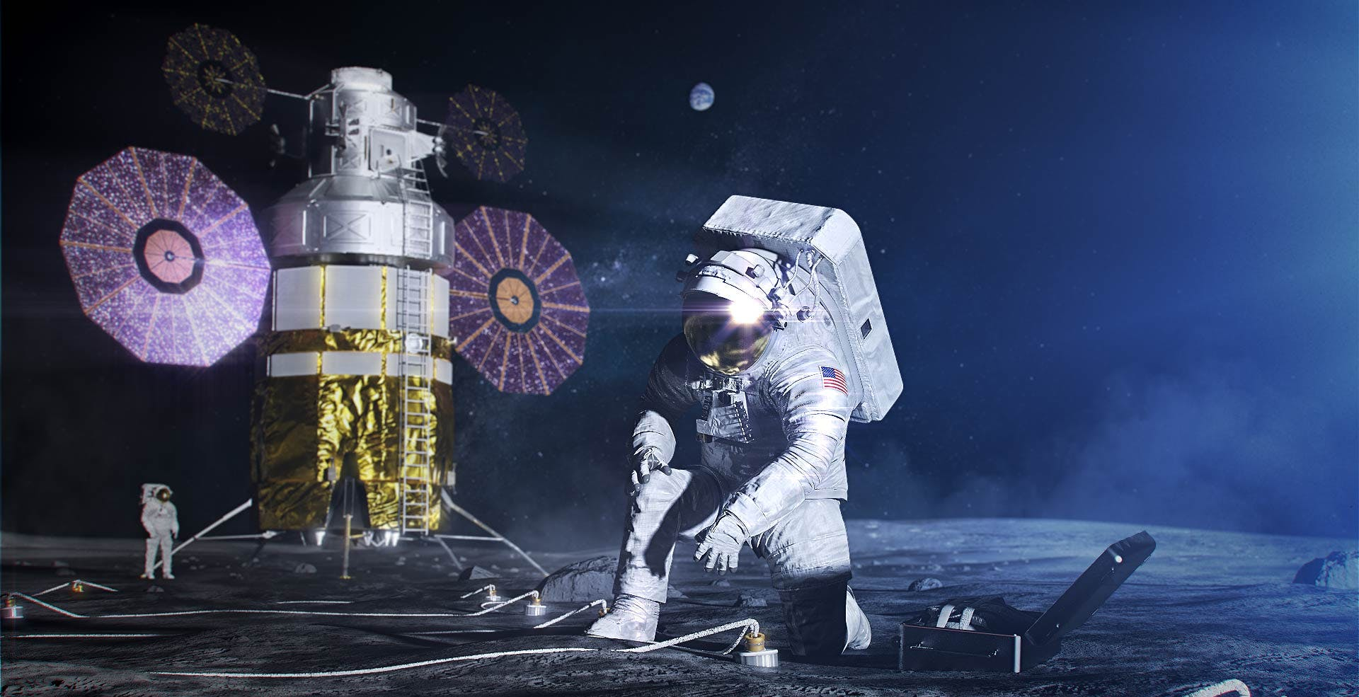 Impossibile riportare l'Uomo sulla Luna nel 2024: lo sviluppo delle nuove tute è in ritardo