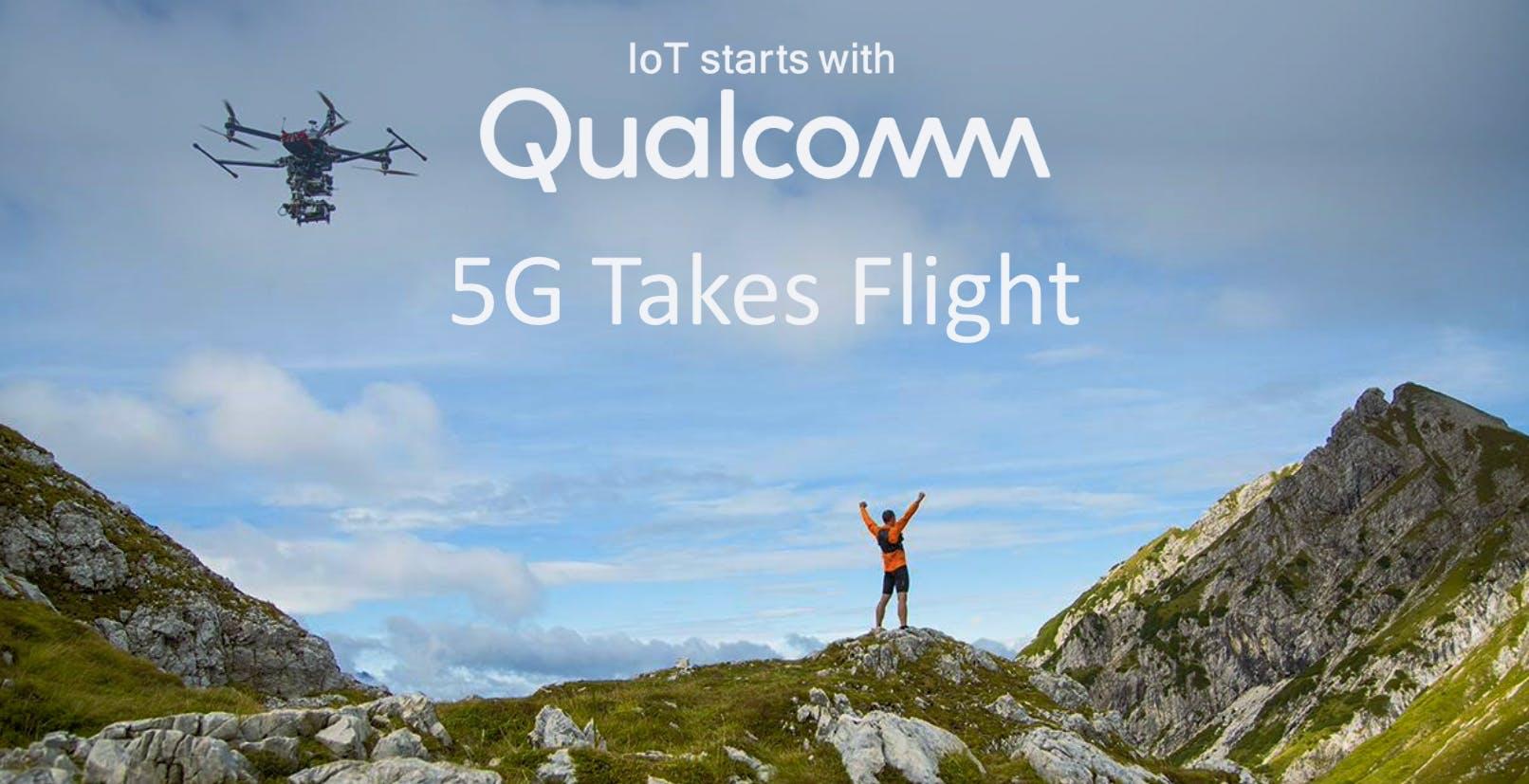 Qualcomm porta 5G e Intelligenza Artificiale sui droni con la nuova piattaforma Flight RB5 5G