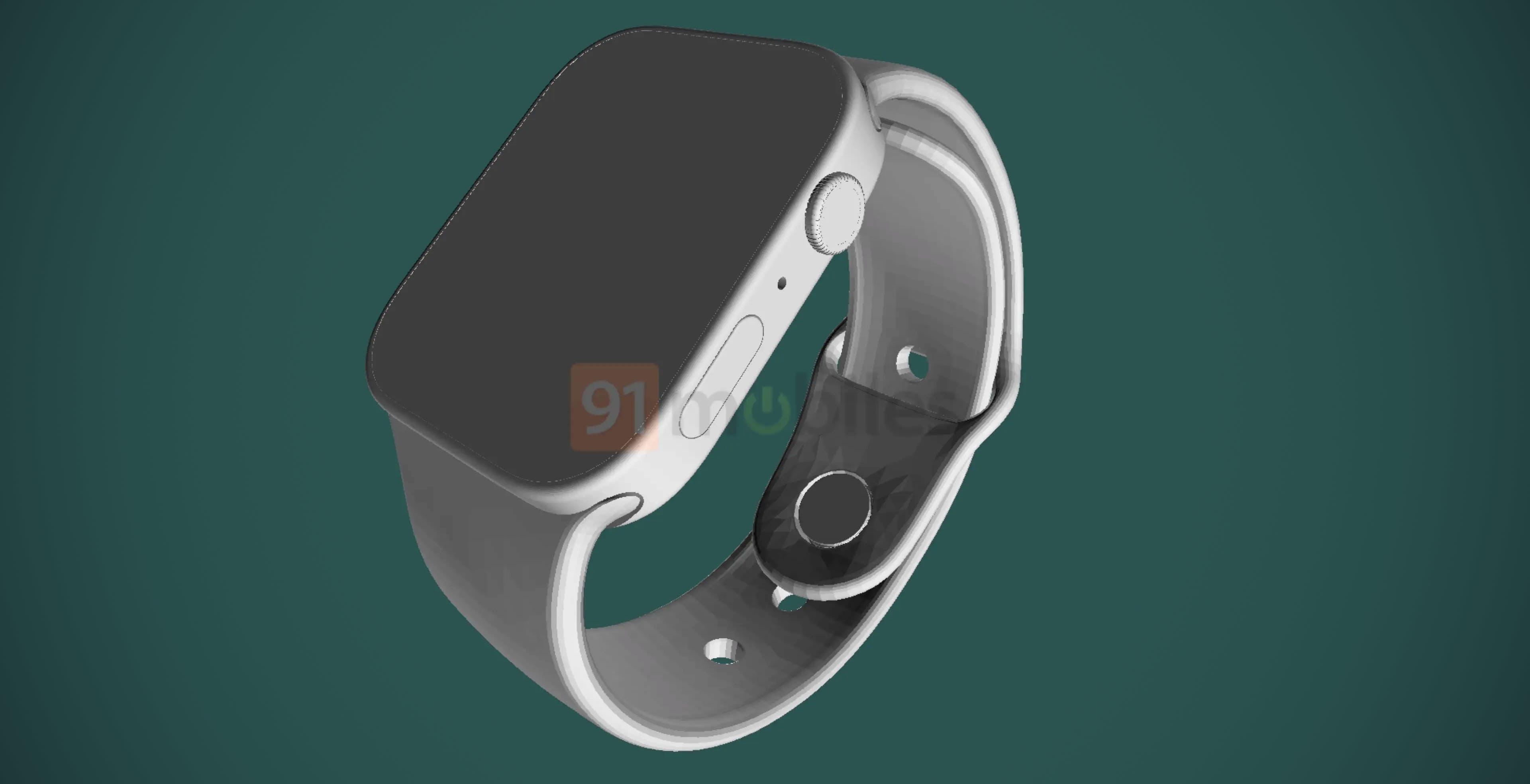 Arrivano gli spigoli anche per Apple Watch Series 7