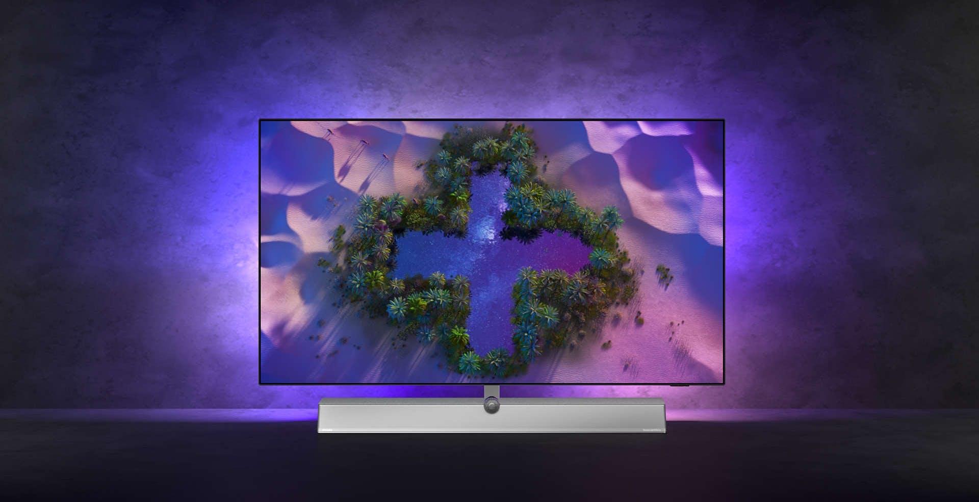 Il nuovo TV top di gamma di Philips è l'OLED936 con HDMI 2.1 e audio B&W