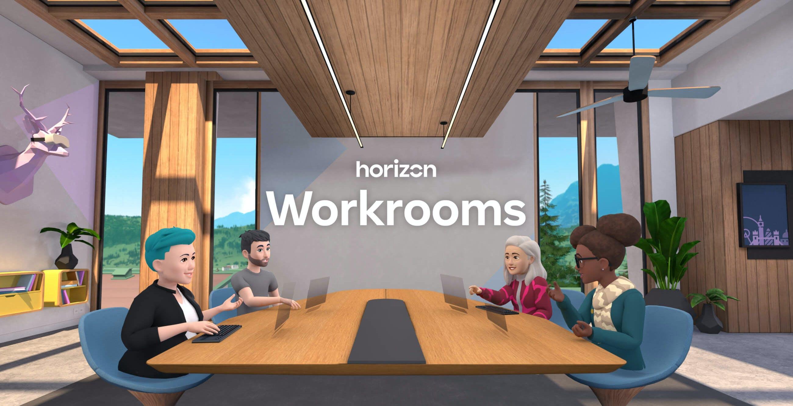 Facebook ha inventato le riunioni virtuali in 3D tramite Oculus Quest 2