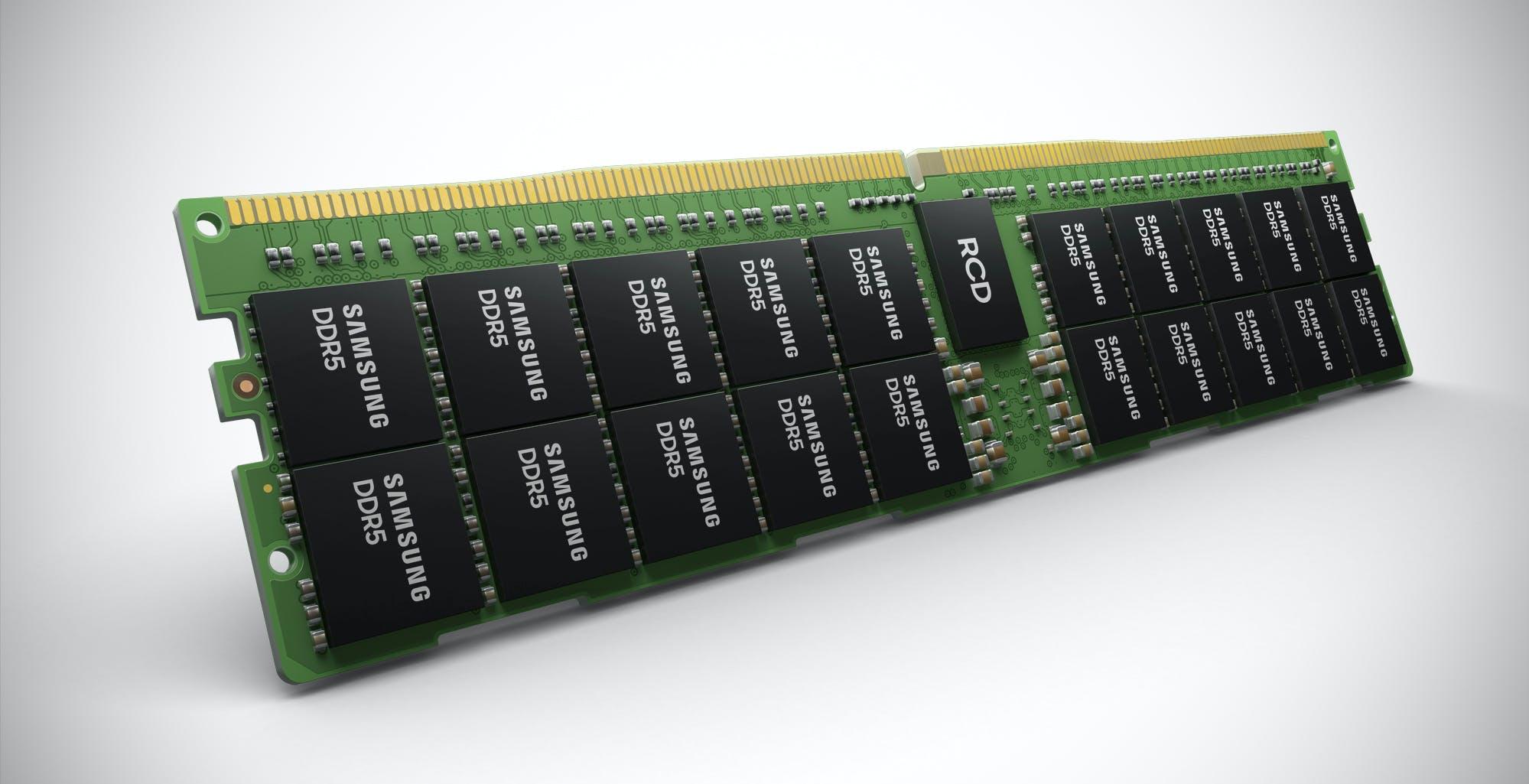 Samsung lancia la super memoria: DRAM DDR5 da 512 GB a 7200 Mhz per i server. Ma arriverà anche sui PC di casa