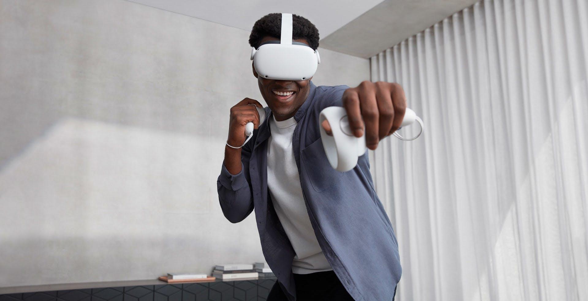 L'Oculus Quest 2 torna in commercio con 128 GB allo stesso prezzo di prima. Sempre di più i giochi interessanti in VR