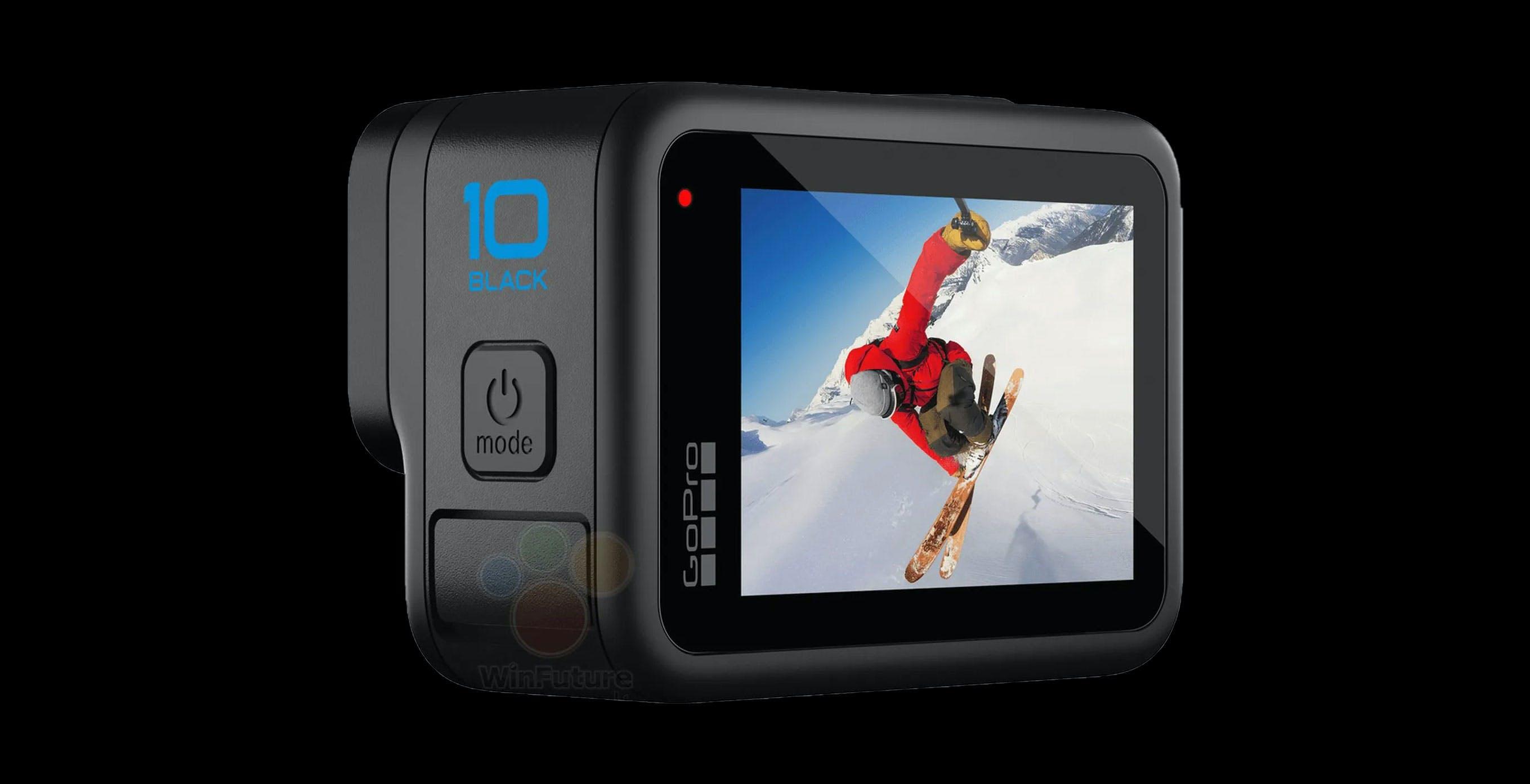 Queste sono le prime foto della nuova GoPro 10 Black