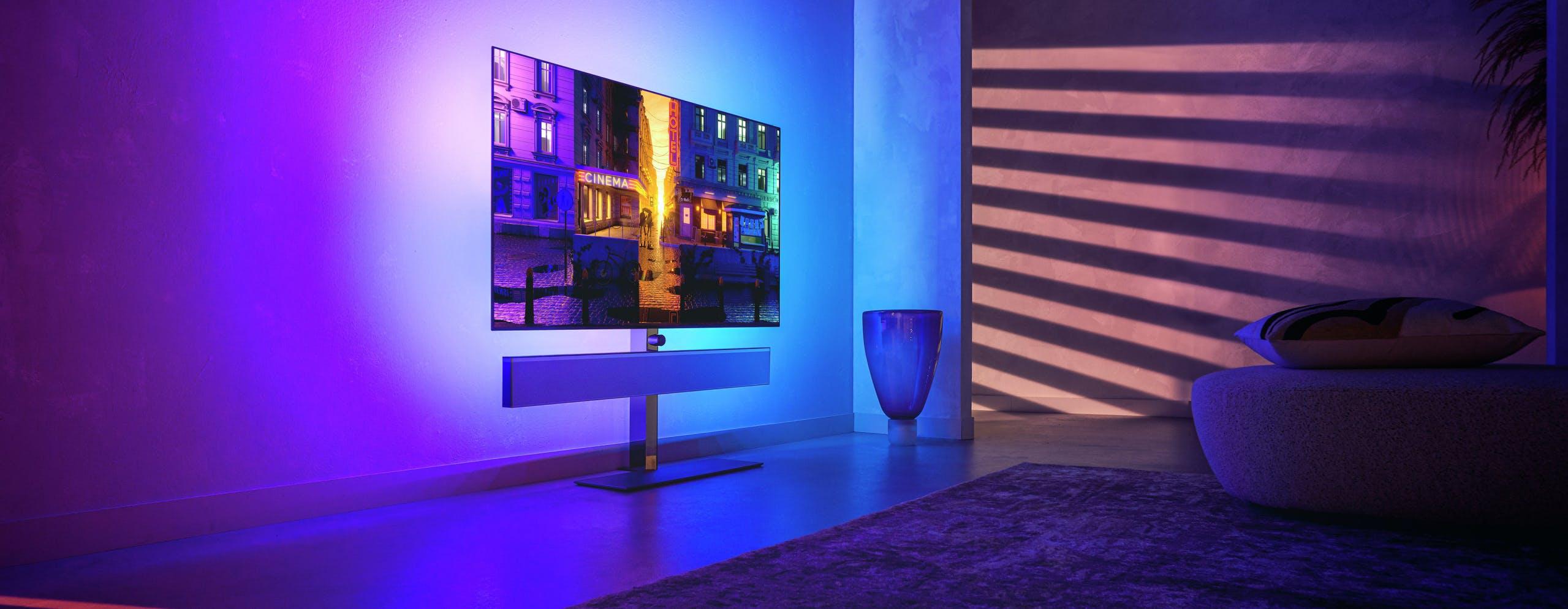 """Philips, ecco l'OLED top di gamma. HDMI 2.1, doppio processore e funzione """"anti stampaggio"""""""