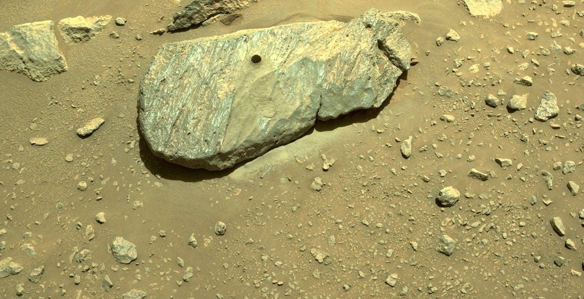Il secondo tentativo di carotaggio su Marte di Perseverance è andato a segno, forse