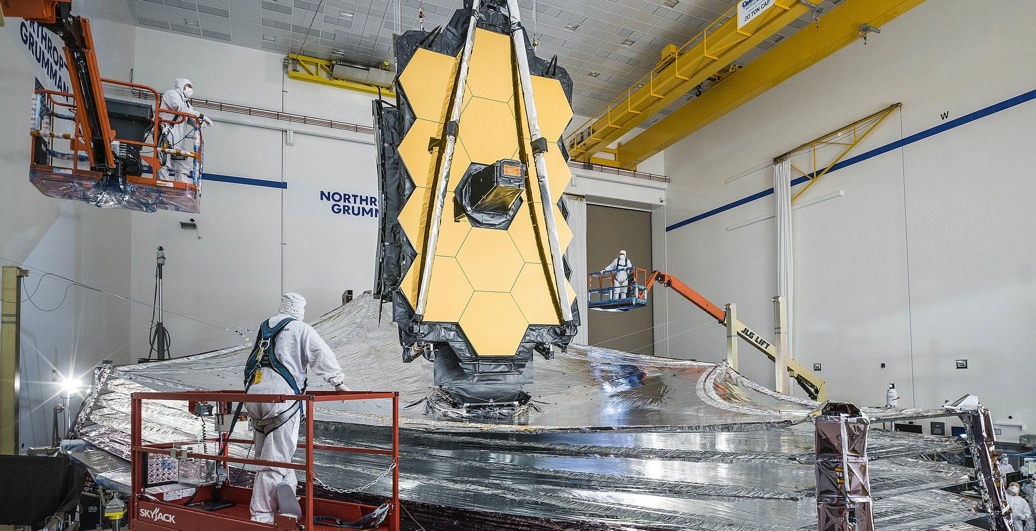 Il James Webb Space Telescope ha una data di lancio