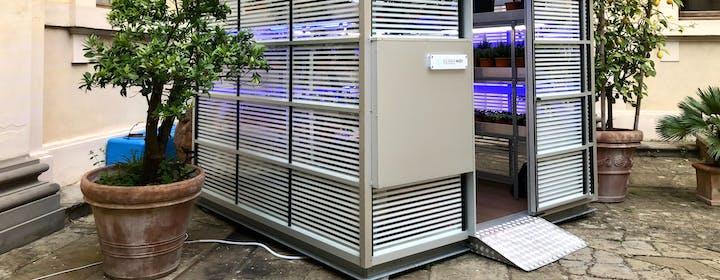 Una serra biologica e automatizzata per frutta e verdura fresca: così l'idea di Serranova è arrivata anche a New York