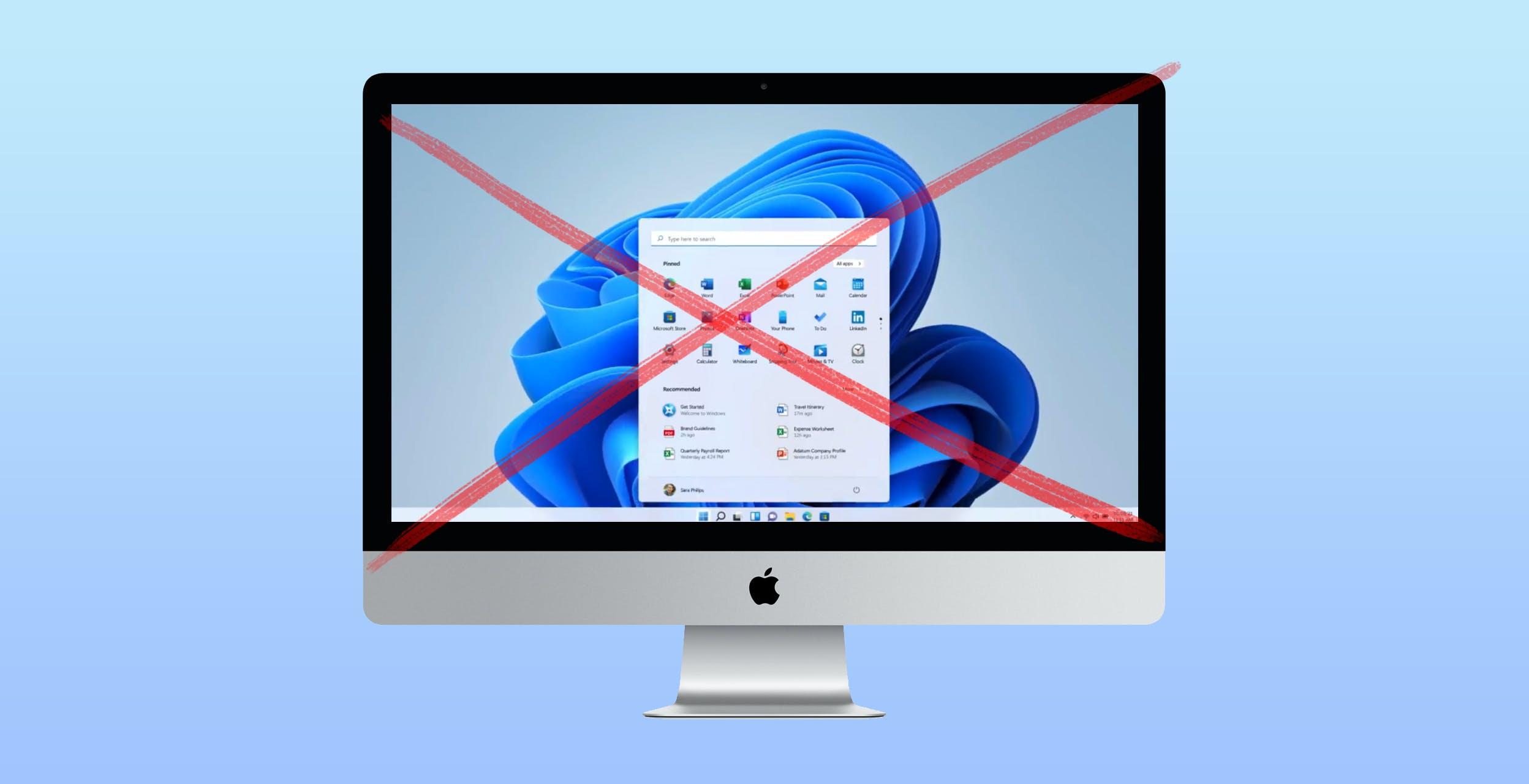 Microsoft non supporterà ufficialmente Windows 11 on ARM virtualizzato sui Mac con M1