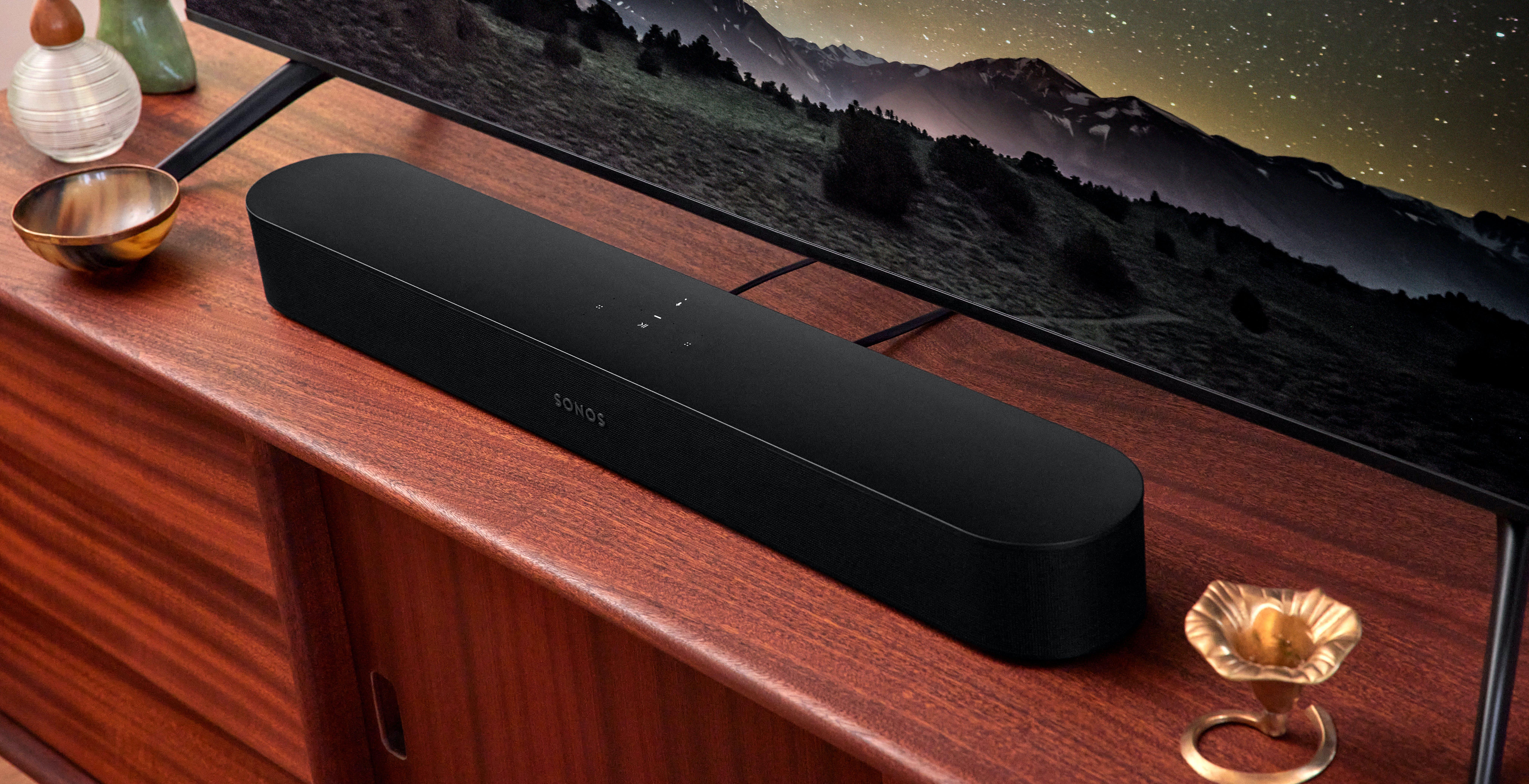 Sonos Beam, ecco la seconda generazione di soundbar. Dolby Atmos subito, Dolby Atmos Music in futuro