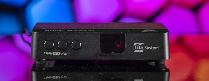 TeleSystem TS9018 Tivùsat. il decoder facile per dimenticare lo switch-off