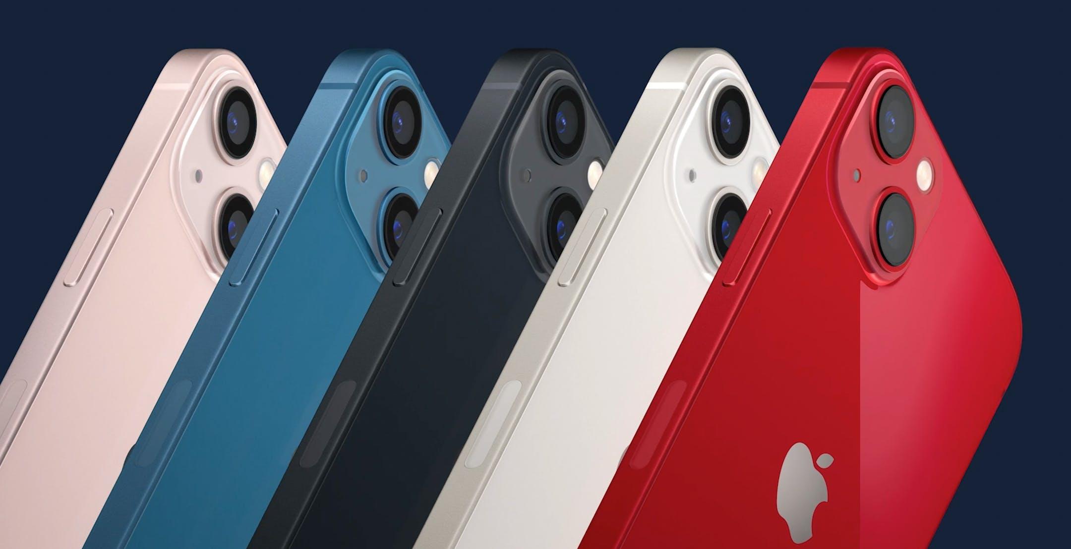 Ecco iPhone 13 e iPhone 13 mini: tacca più piccola e autonomia migliorata. Via il modello da 64 GB: si parte da 128 GB
