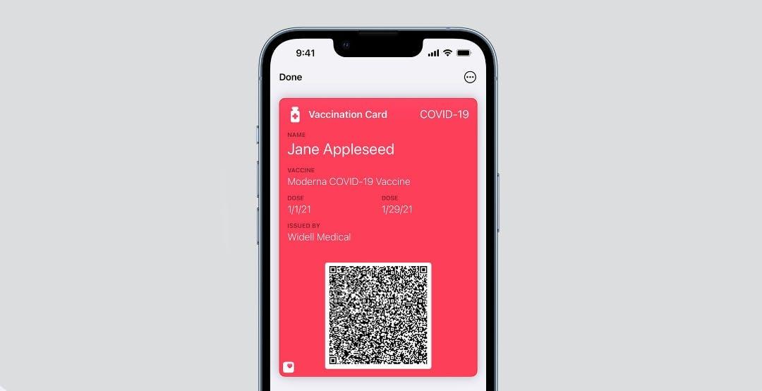 La prima beta di iOS 15.1 aggiunge la possibilità di salvare il certificato vaccinale nel Wallet di iPhone
