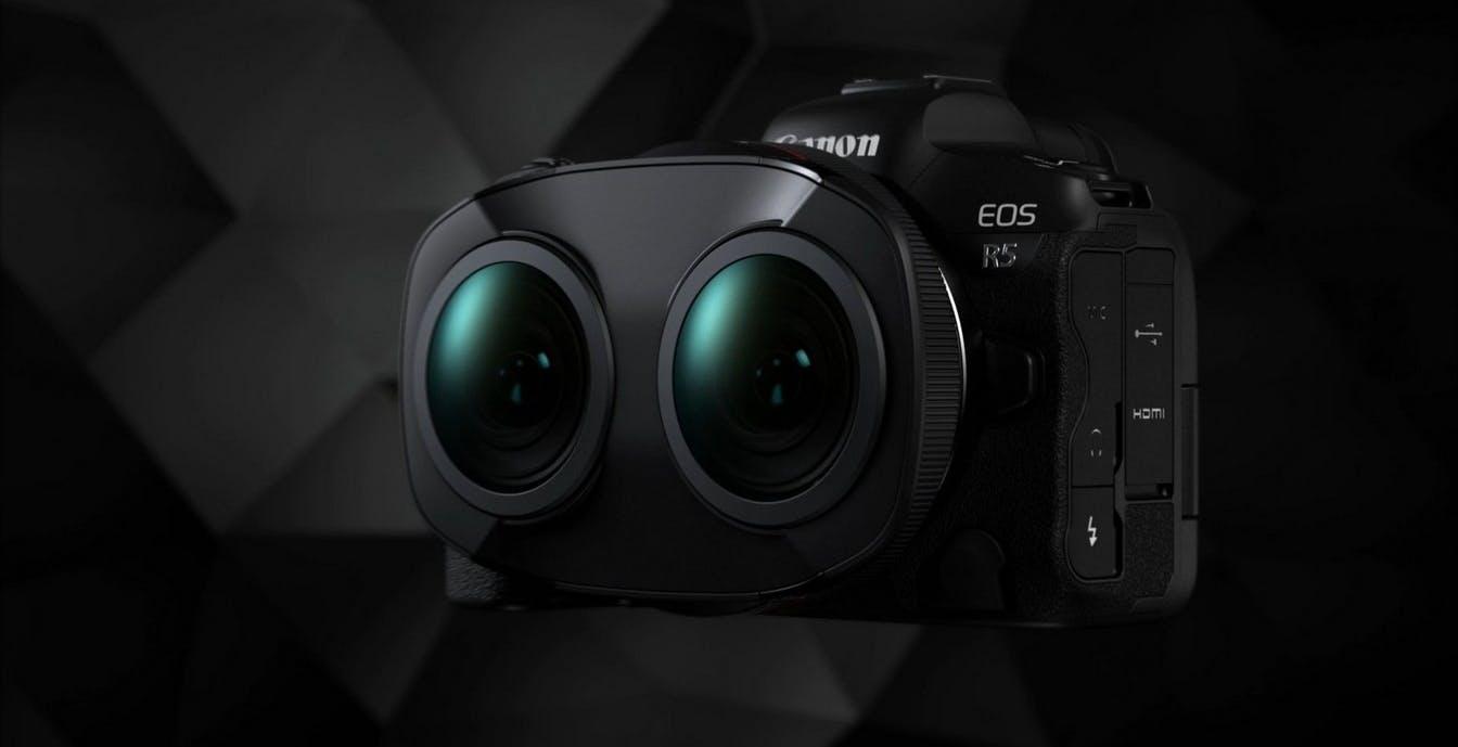 Il nuovo obiettivo 3D VR180 di Canon è unico al mondo: due occhi per rendere virtuale la realtà
