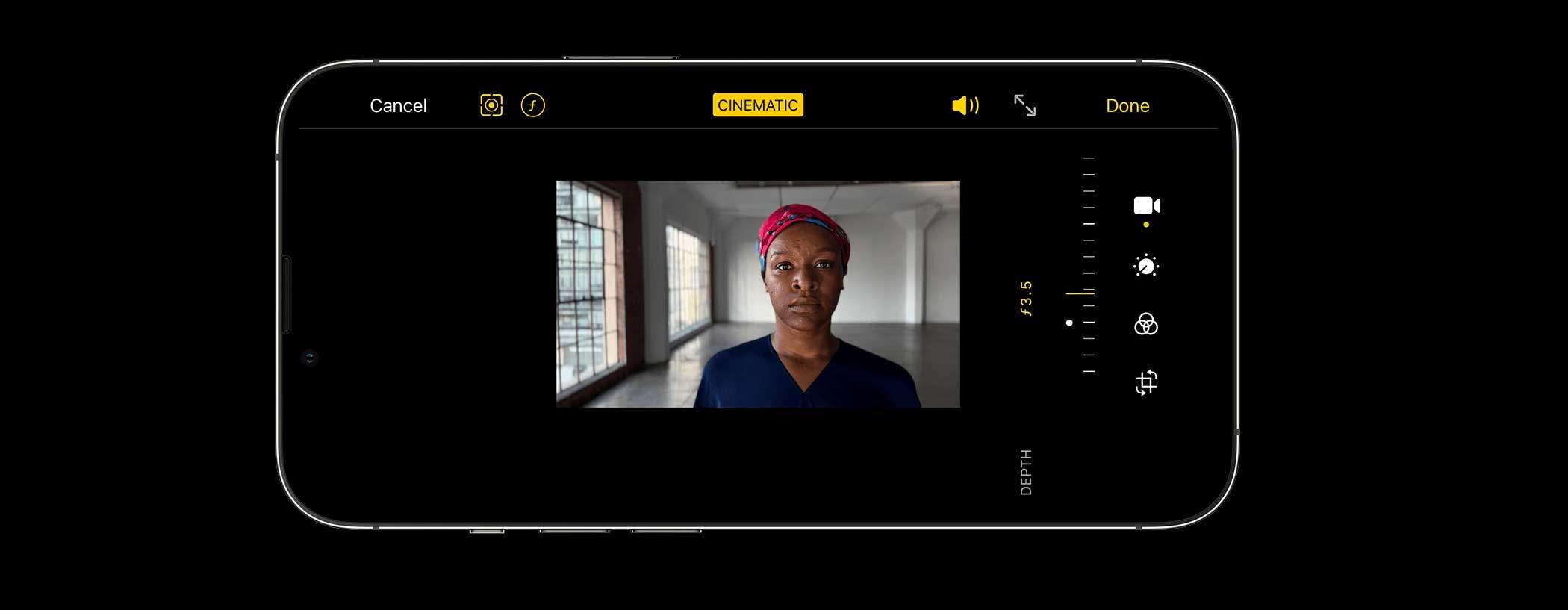 Come Apple ha progettato la modalità Cinema di iPhone 13