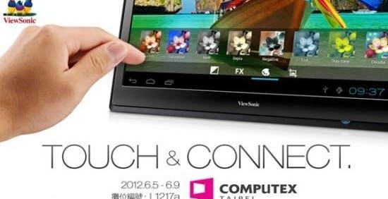 "ViewSonic pensa in grande: tablet da 22"""