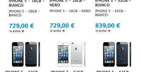Altro che crisi: l'iPhone 5 sfiora i 1000 euro