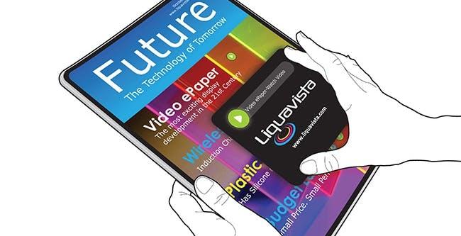 Amazon vuole Liquavista per ebook a colori