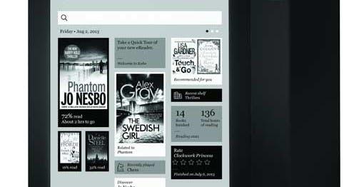 Kobo Aura HD, il miglior ebook al mondo