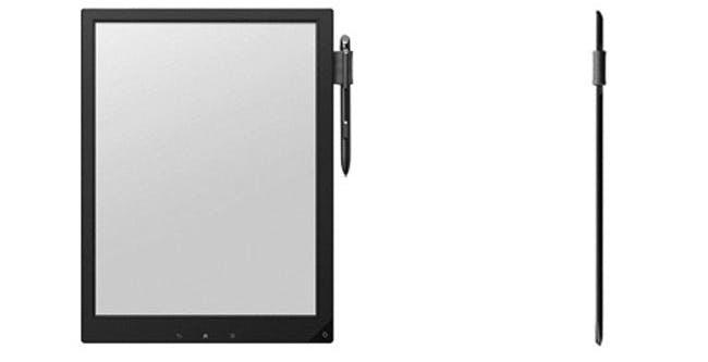 Sony E-Ink Slate ucciderà il block notes