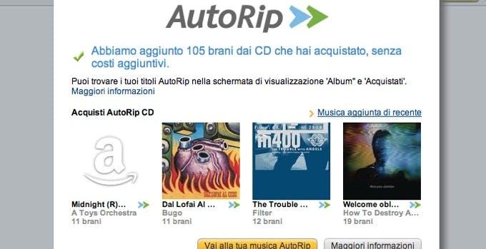 Compri un CD o LP? Amazon ti regala l'MP3