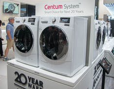 Lavatrici e frigoriferi LG Centum System: efficienti, duraturi e garantiti 10 anni