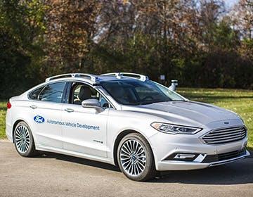 CES 2017, arriva la Ford Fusion a guida autonoma
