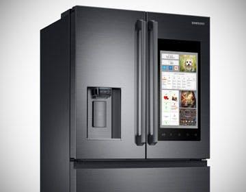 Display da 21'', Wi-Fi e comandi vocali nei nuovi frigoriferi Samsung