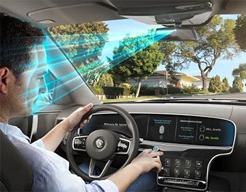 Continental immagina il futuro dell'auto con biometria, cloud e display intelligenti
