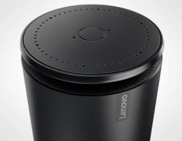 Anche Lenovo ha un assistente domestico a forma di cilindro